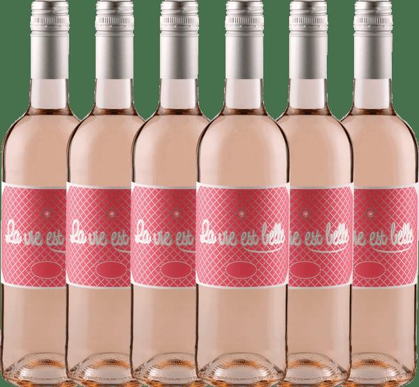 6er Vorteils-Weinpaket La vie est belle Rosé 2019 - La vie est belle