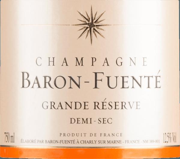 Grande Réserve Demi-sec - Champagne Baron-Fuenté von Champagne Baron-Fuenté