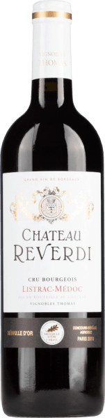 Listrac-Médoc Cru Bourgeois 2015 - Château Reverdi