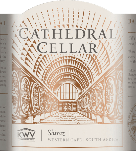Cathedral Cellar Shiraz Western Cape 2016 - KWV von KWV