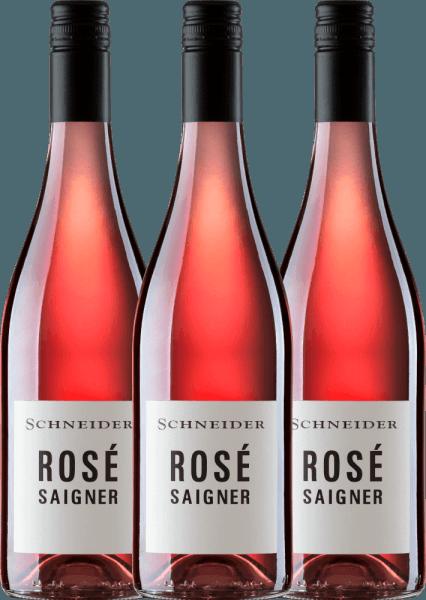 3er Vorteils-Weinpaket - Saigner Rosé trocken 2020 - Markus Schneider