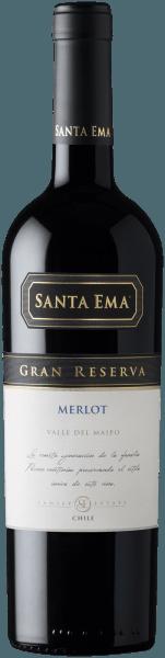 Merlot Gran Reserva Valle del Maipo DO 2018 - Santa Ema