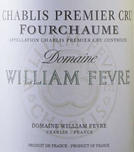 Fourchaume Chablis Premier Cru AOC 2018 - Domaine William Fèvre von Domaine William Fèvre