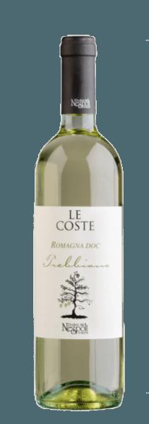 Der Le Coste Trebbiano Romagna DOC von Poderi dal Nespoli funkelt im Glas in einem zarten Gelb und verströmt die köstlichen Zitrusaromen von Limetten und Zitronen. Abgerundet wird das Bouquet dieses Weines von floralen Anklängen und grünem Apfel. Diese Noten spiegeln sich auch am Gaumen dieses Weines wider. Der Le Coste Trebbiano begeistert mit seiner ausgewogenen Säure und der typischen Trebbiano-Frische. Der Name Le Coste stammt von einem lokalen Dialektausdruck, der sich auf die Hänge bezieht, auf denen die Weinberge von der Poderi dal Nespoli liegen. Speiseempfehlung für den Le Coste Trebbiano Genießen Sie diesen trockenen Weißwein zu Vorspeisen, Pasta, gebratenem Fisch oder Krabbensalat.