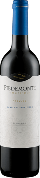 Cabernet Sauvignon Crianza Navarra DO 2017 - Piedemonte