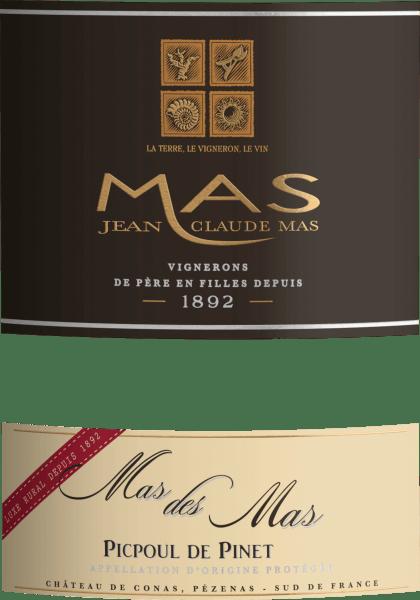Mas des Mas Picpoul de Pinet AOC 2020 - Les Domaines Paul Mas von Domaine Paul Mas