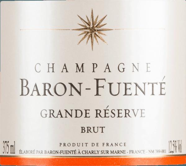 Grande Réserve Brut 0,375 l - Champagne Baron-Fuenté von Champagne Baron-Fuenté