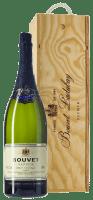 Cremant Saphir Saumur Brut 3,0 l Jeroboam in wooden box - Bouvet Ladubay
