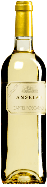 The Capitel Foscarino Bianco Veneto IGT by Azienda Agricola Anselmi presents itself in a golden yellow in the glass. The bouquet develops aromas of apple, citrus and peach with a lovely herbal note in the background. The taste of this white wine from Veneto is soft and round, the structure is creamy, carried by fine acidity. Vinification of the Capitel Foscarino Bianco Veneto IGT by Anselmi For this wine 90% Garganega and 10% Chardonnay are vinified together. The grapes are grown in the Capitel Foscarino vineyard, where Anselmi owns 10 hectares. The soil is of volcanic origin, the vineyards are situated on the hills of the Soave region, at an altitude of about 350 m. The grapes are harvested rigorously by hand. After a short maceration period, the must is slowly fermented with its own yeasts at controlled low temperatures. The wine is then aged in stainless steel tanks for six months. Food pairings for the Capitel Foscarino Bianco Veneto IGT by Anselmi Enjoy this elegant and creamy white wine from the Soave region with fish, pasta, risotto, vegetables, white meat and fresh and ripe cheeses. Awards for the Capitel Foscarino Bianco Veneto IGT by Anselmi Gambero Rosso: 2 glasses for 2016