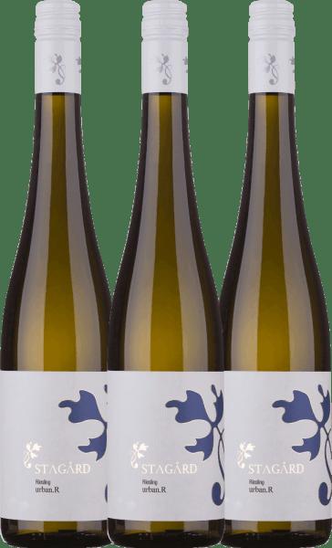 3er Vorteils-Weinpaket - Urban.R Riesling 2019 - Lesehof Stagard