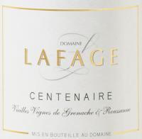 Vorschau: Centenaire Côtes du Roussillon 2020 - Domaine Lafage