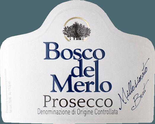 Prosecco Spumante Brut 2019 - Bosco del Merlo von Bosco del Merlo