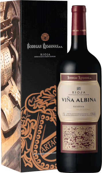 Vina Albina Reserva Rioja DOCa 1,5 l Magnum 2016 - Bodegas Riojanas