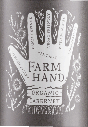 Cabernet Sauvignon Organic Monash Valley 2018 - Farm Hand von Farm Hand Wines