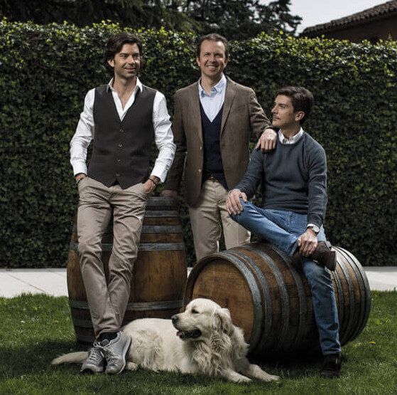 Domenico, Francesco und Michele Zonin