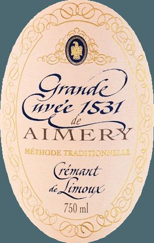 Aimery Grande Cuvée 1531 Rosé Crémant Brut - Sieur d'Arques von Sieur d'Arques