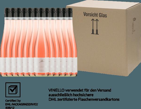 12er Vorteils-Weinpaket - Merlot Rosé eins zu eins feinherb 2019 - A. Diehl von Weingut A. Diehl