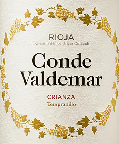 Conde Valdemar Crianza Rioja DOCa 2016 - Bodegas Valdemar von Bodegas Valdemar