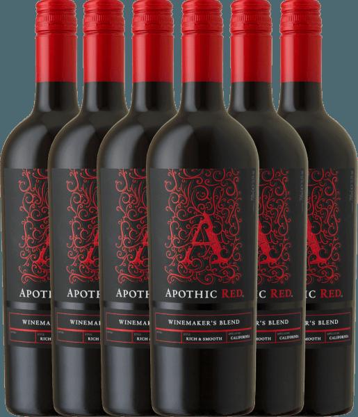 6er Vorteils-Weinpaket Apothic Red 2019 - Apothic Wines