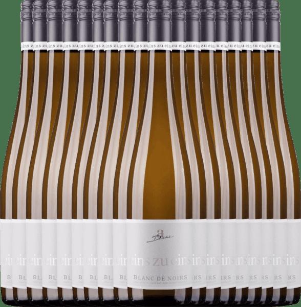 18er Vorteils-Weinpaket - Blanc de Noirs eins zu eins 2020 - A. Diehl