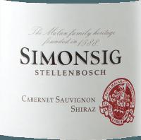 Vorschau: Cabernet Sauvignon & Shiraz 2019 - Simonsig