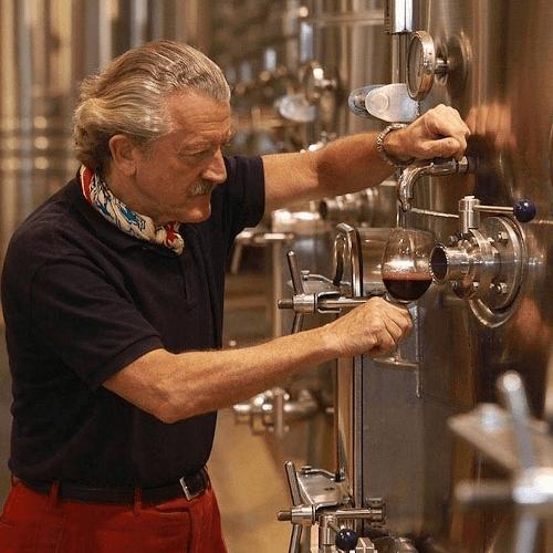 The winegrower and singer Dieter Meier
