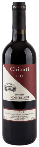 Dieser reinsortige Rotwein aus der Region Toskana ist ein wunderbarer Chianti. Der Chianti DOCG von Fattoria Montellori besitzt ein intensiv nach schwarzen Beeren duftendes Aroma, welches sich zu einem angenehmen Brombeergeschmack entwickelt. Er ist ausgewogen, trocken, mit samtig-weichen Tanninen und daher eine ideale Ergänzung zu leichten Schmorgerichten, wie z.B. Kaninchen.