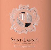 Preview: Les Coquelicots Rosé Côtes de Gascogne IGP 2020 - Domaine Saint-Lannes