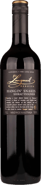 Hangin' Snakes Shiraz Viognier Barossa Valley 2018 - Langmeil