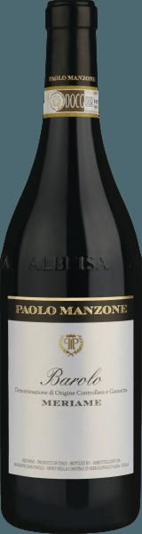 Meriame Barolo DOCG 2015 - Paolo Manzone