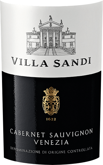 The Cabernet Sauvignon Venezia from the wine growing region of Veneto presents itself in the glass in brilliant shimmering purple red. The bouquet of this Venetian red wine is captivating with notes of mulberry, blackcurrant, blackberry and blueberry. As we continue to explore the aromas, juniper, forest soil and Mediterranean herbs are added. This red wine from Villa Sandi is for wine drinkers who like it absolutely dry. The Cabernet Sauvignon Venezia already comes quite close to this, as it was pressed with just 2 grams of residual sugar. On the tongue, this light-footed red wine is characterized by an incredibly dense texture. Due to the balanced fruit acidity, the Cabernet Sauvignon Venezia flatters with a soft feeling on the palate, without missing freshness. The finale of this mature red wine from the Veneto wine growing region finally captivates with a remarkable aftertaste. Vinification of the Cabernet Sauvignon Venezia from Villa Sandi This red wine clearly focuses on one grape variety, namely Cabernet Sauvignon. Only immaculate grapes were harvested for this exceptionally elegant, varietal wine from Villa Sandi. After the manual harvest, the grapes quickly reach the winery. Here they are sorted and carefully ground. Fermentation then takes place in stainless steel tanks at controlled temperatures. The fermentation is followed by a maturation on the fine yeast for several months before the wine is finally bottled. Recommended food for the Cabernet Sauvignon Venezia from Villa Sandi This Italian is best enjoyed at a temperature of 15 - 18°C. It is perfect as an accompaniment to duck breast with snow peas, vegetable couscous with beef rissoles or goose breast with ginger red cabbage and marjoram.