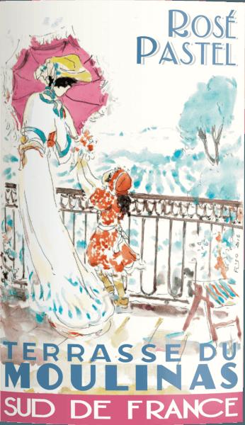 Terrasse Du Moulinas Rosé Pastel 2019 - Domaine Paul Mas von Domaine Paul Mas