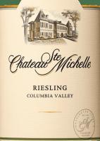 Vorschau: Riesling feinherb 2018 - Chateau Ste. Michelle
