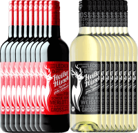 18er mix pack - organic mulled wine red & white - Heißer Hirsch
