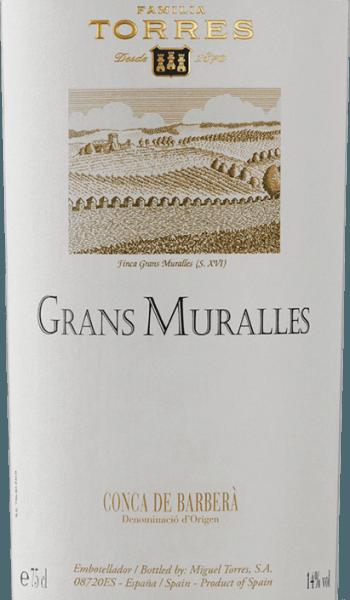 Grans Muralles DO 2016 - Miguel Torres von Miguel Torres
