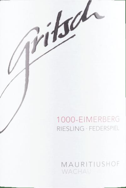 1000 Eimerberg Riesling Federspiel 2016 - Gritsch von Gritsch - Mauritiushof