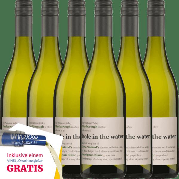 6er Vorteils-Weinpaket - Hole in the Water Sauvignon Blanc 2020 - Konrad Wines von Konrad Wines