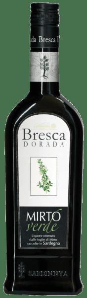 Der Mirto Verde von Bresca Dorada stellt das helle Gegenstück zum Mirto Rosso dar und wird aus den jungen Blättern des Myrthestrauchs gewonnen. Dieser Likör aus Sardinien begeistert mit seinem intensiven aromatischen und delikaten Geschmack. Durch seinen geringen Gehalt von Zucker und Alkohol ist dieser Likör ein passender Begleiter für viele Gelegenheiten. Servierempfehlung für den Bresca Dorada Mirto Verde Genießen Sie den Mirto Verde gut gekühlt.