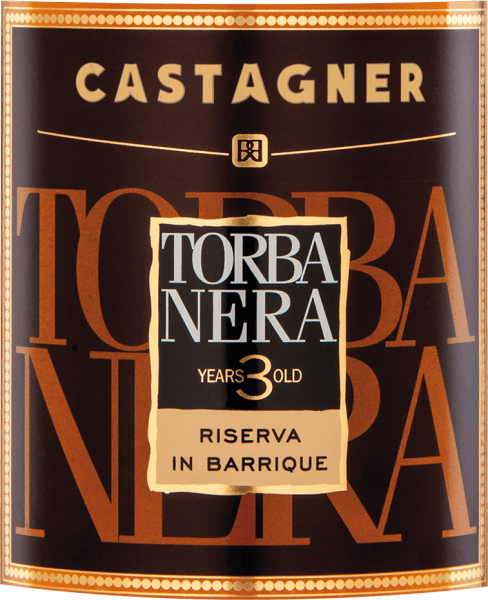Torba Nera Grappa Aquavite d'Uva 3 Anni 0,1 l - Castagner von Roberto Castagner