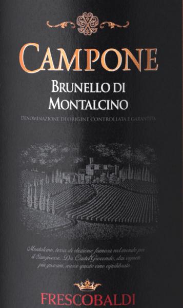 Campone Brunello di Montalcino DOCG 2014 - Frescobaldi von Frescobaldi