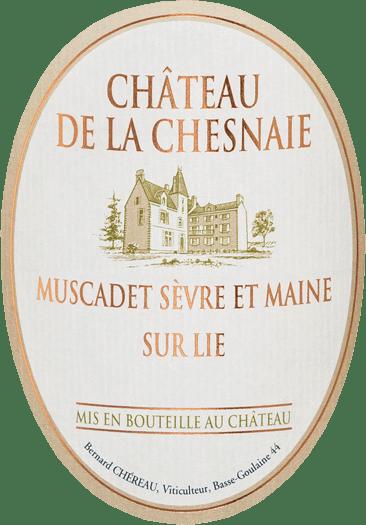 Château de la Chesnaie Muscadet Sèvre-et-Maine sur Lie 2018 - Chéreau Carré von Chéreau Carré