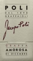 Vorschau: Amorosa di Dicembre Grappa 0,5 l - Jacopo Poli