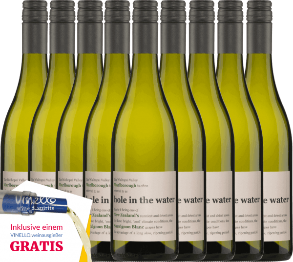 9er Vorteils-Weinpaket - Hole in the Water Sauvignon Blanc 2019 - Konrad Wines von Konrad Wines