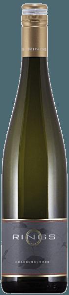 Der Grauburgunder Qualitätswein trocken von Ringsgibt eine kräuterwürzige Kernobstfrucht (frische Birne) in der Nase zu erkennen. Klar und saftig wirkt er im Mund. Neben anregend kräuterwürzigen Nuancen erinnert der Geschmack an dickschalige Apfelfrüchte mit einer etwas herben Note. Der Körper wirkt schlanker als er ist und folgt einer kompakten Struktur. Mit lebendiger Frische und ordentlich Substanz erfüllt er den leicht adstringierenden Gaumen. Ein Hauch Mineralität gesellt sich dazu ehe er mit dem langen Abgang schließt.Trinken Sie ihn solo oder als Begleiter zu Meeresfrüchten und Fischgerichten.