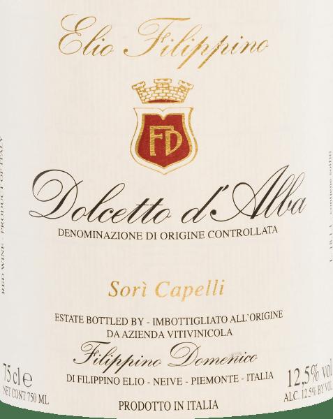 Sori Capelli Dolcetto d'Alba DOC 2018 - Elio Filippino von Elio Filippino