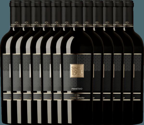 12er Vorteils-Weinpaket - Since 1913 Primitivo Puglia IGT 2016 - Torrevento