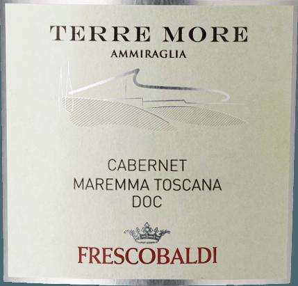 Der Terre More Maremma Toscana DOC von Tenuta dell' Ammiraglia von Frescobaldi präsentiert sich im Glas in einem satten, glänzenden Purpurrot. An die Nase entfalten sich vielfältige Aromen, darunter eingelegte Kirschen, Brombeere und Johannisbeere, die in würzige und balsamische Noten von Zimt und Lakritze münden. Am Gaumen zeigt sich diese elegante Rotwein-Cuvée aus der Maremma weich und einnehmend, modern im Geschmack, aber toskanisch in der Tradition. Sehr langer Abgang mit leicht fruchtig-süßen Aromen im Nachhall. Herstellung des Terre More Maremma Toscana von Tenuta dell'Ammiraglia Dieser Rotwein aus dem Süden der Toskana ist eine gekonnt komponierte Cuvéevon schöner Intensität und Eleganz aus 70% Cabernet Sauvignon und Cabernet Franc, Merlot und Syrah. Nach der Maischegärung mit den Schalen über 13 Tage folgt umgehend die malolaktische Gärung in Barriques in zweiter und dritter Nutzung, in denen dann auch der Ausbau für die Dauer von 12 Monaten erfolgt. Empfehlungen für den Terre More von Tenuta dell'Ammiraglia Geniessen Sie diesen fruchtigen toskanischen Rotwein zu Grillfleisch, Nudelgerichten mit Hackfleisch- oder Tomatensoße oder einer würzigen Pizza 4-Formaggi mit vier Käsesorten. Auszeichnungen James Suckling - 90 Punkte