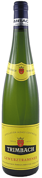 The bright golden-yellow Gewürztraminer unfolds the typical Gewürztraminer flavors of grapes, peonies, ripe lychees and fine biscuit. An elegant spice, lots of juicy fruit and the Trimbach typical enormously gentle sweetness dominate the concentrated and full-bodied palate with the perfect balance and ensure finesse.