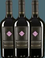 3er Vorteils-Weinpaket - Zolla Primitivo di Manduria DOP 2019 - Vigneti del Salento