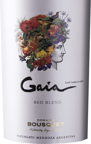 The Gaia Red Blend from Domaine Bousquet is a complex, multi-layered and excellent red wine cuvée from the Argentinian wine-growing region Tupungato in Mendoza. Organic grapes (Malbec, Syrah, Cabernet Sauvignon) are vinified. This wine presents itself in a deep violet with a black core in the glass. The nose enjoys a very fruity aroma that reveals red and black currants and dark plums. Spicy, dried herbal notes are added. On the palate this Argentine red wine has a juicy body, which is supported by a round, soft tannin structure. The acidity is wonderfully integrated. The aromatic complexity of the nose extends into the pleasantly long finish. Vinification of the Bousquet Gaia Only organically grown grapes are used for this cuvée. The vines are rooted in Tupungato - Alto Gualtallary - at an altitude of 1200 metres, in gravelly and sandy soils. The harvest of Malbec, Syrah and Cabernet Sauvignon grapes begins at the beginning of April. When the grapes arrive in the Bousquet cellar, they are cold macerated for 72 hours. The must is then fermented in stainless steel tanks at a controlled temperature of 27 degrees Celsius for 12 days. This is followed by a further maceration of 14 days. This wine is aged for 10 months in French oak barrels. Food recommendation for the Red Blend Bousquet Gaia Enjoy this dry red wine from Argentina with grilled meat, braised meat in dark sauce, ripe cheeses or refined chocolate desserts. Awards for the Gaia Red Blend from Domaine Bousquet Tim Atkin: 93 points for 2018 James Suckling: 91 points for 2018 Stephen Tanzer: 92 Puntke for 2018 Wine Enthusiast: 90 points for 2018
